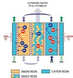 Electrodeionization-EDI
