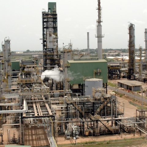 Tema oil refinery utility off-site project